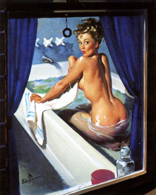 jeepers peepers by gil elvgren