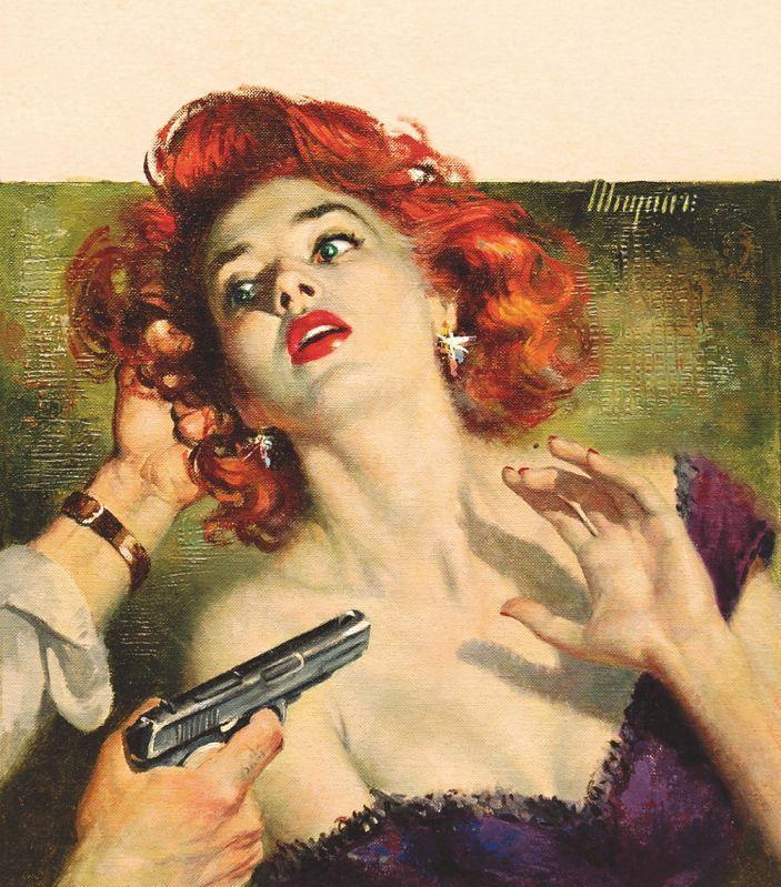 redhead gun to head